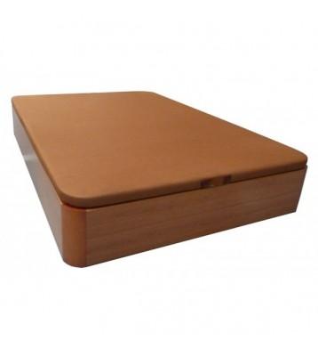 Canapé base tapizada 135x190 cerezo