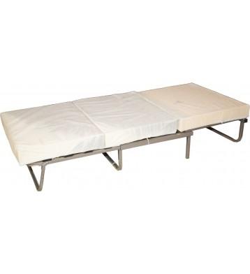 Pouf cama convertible. Gris