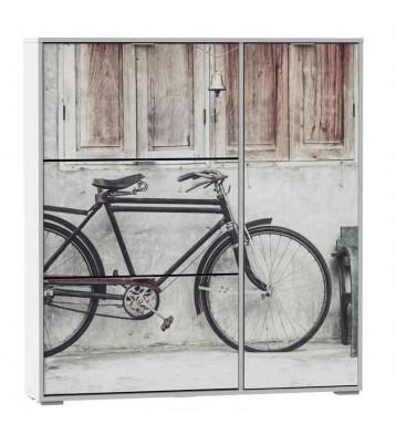Zapatero con compartimento Bicicleta