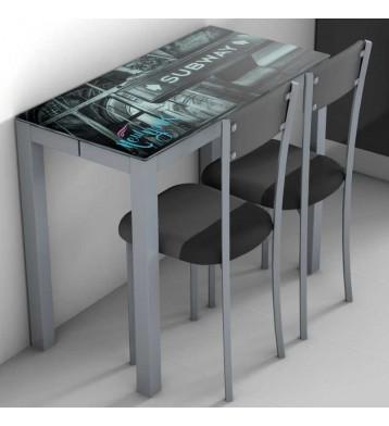 Mesa de cocina ext. Serra New York
