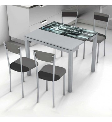 Mesa de cocina extensible, Serra New York