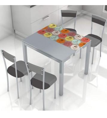 Mesa de cocina ext. Serra Fruits