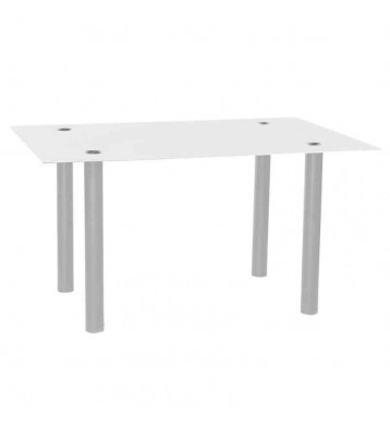 Mesa salon 140x90 Avat. Blanca gris