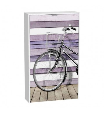 Zapatero 75x127 bici rosa 3 baldas