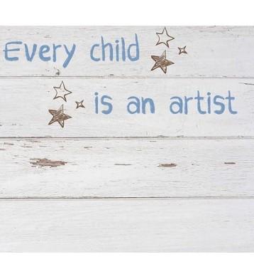 Cabezal infantil blanco 110x90cm, Artist