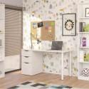 Mesa escritorio 138 cm. Athena blanca