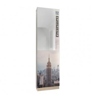 Zapatero recibidor con espejo 180cm, Manhattan