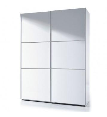 Armario 150x200 puerta corredera blanco brillo