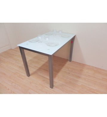 Mesa refez 110x70. Blanco