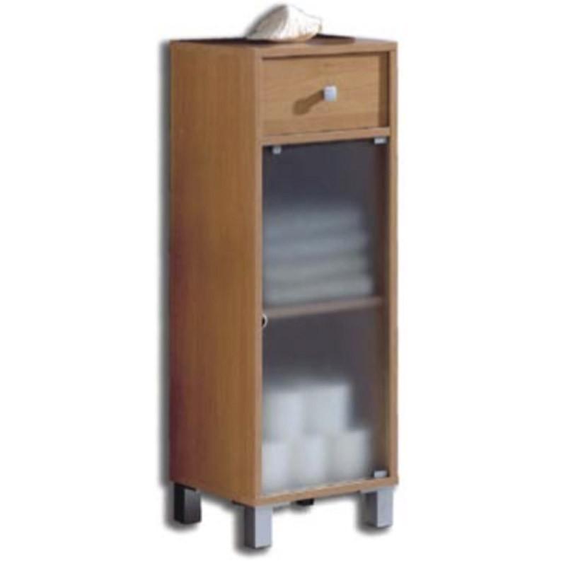 armario pandora para ba o cerezo melamina 96x34x30