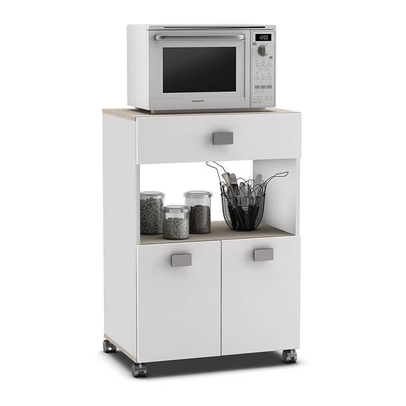 Armario aparador bajo blanco melamina 59 39 6x90 for Aparador cocina