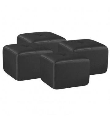 Pouf 50x50 negro