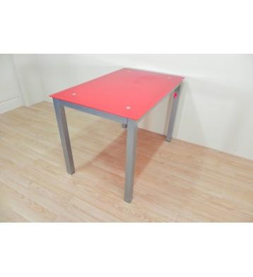 Pack Mesa 110x70 + 2 sillas metalicas