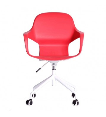 Silla de Oficina Sally en rojo 63x85-89cm
