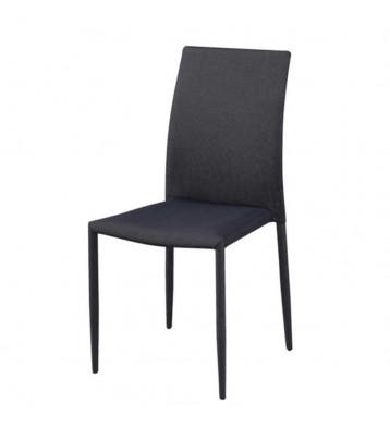 Pack 4 sillas Kursa tela gris