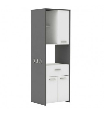 Armarios buffets mobiliario almacenaje para cocina - Mueble alto microondas ...