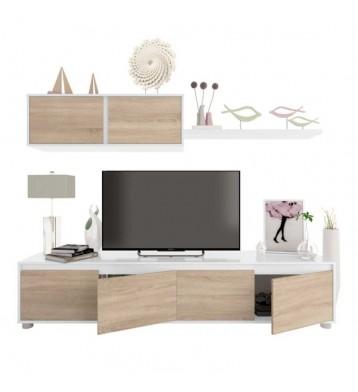 Muebles salon comedor miroytengo for Mueble salon blanco y roble