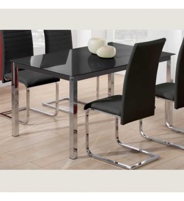 Mesas de salon comedor fijas y extensibles miroytengo for Mesa comedor negra