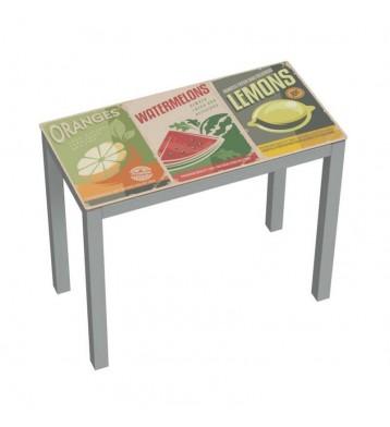 Mesa de cocina extensible. Serra Limón
