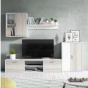 Mueble para salon comedor en color blanco y shamal - Miroytengo.es
