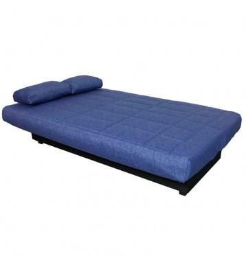 Sofa cama textil en color azul