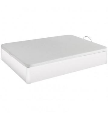 Canapé base tapizada 150x190 blanco