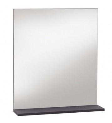 Espejo de pared Thais con repisa