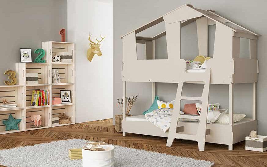 Soluciones de espacio I Camas canguro, camas nido y literas