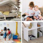 Decoración de habitación infantil Montessori (niños 2 y 3 años)