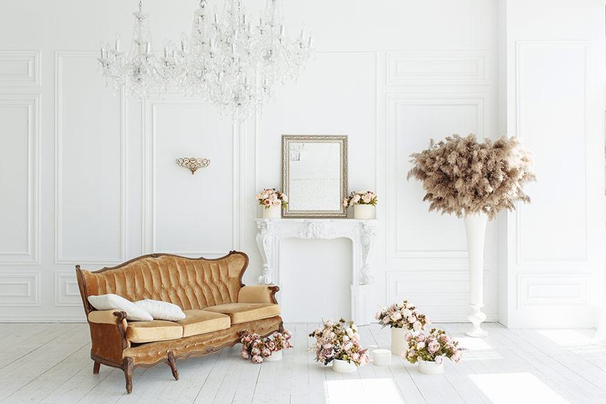 Salón de estilo neoclásico