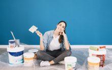 ¿De qué color pintar un salón con muebles wengue?