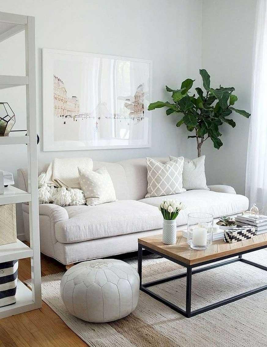 Colocar cuadros encima del sof consejos blog miroytengo - Que cuadros poner en el salon ...