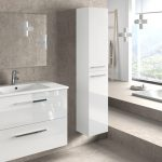 Altura ideal de un mueble para baño suspendido