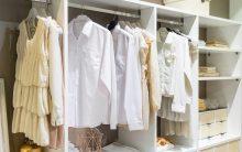 Armario con cortinas de tela: Vestidores Chulísimos