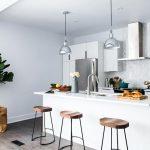 Cocina americana pequeña con barra: Inspiración y consejos