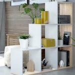 Estanterías para separar ambientes y crear espacios únicos