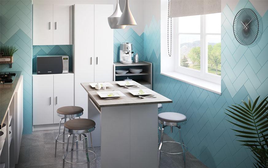 Como pintar azulejos de cocina de manera original