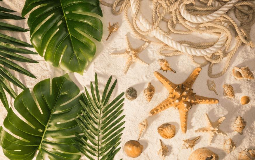 Objetos para decorar apartamento de playa