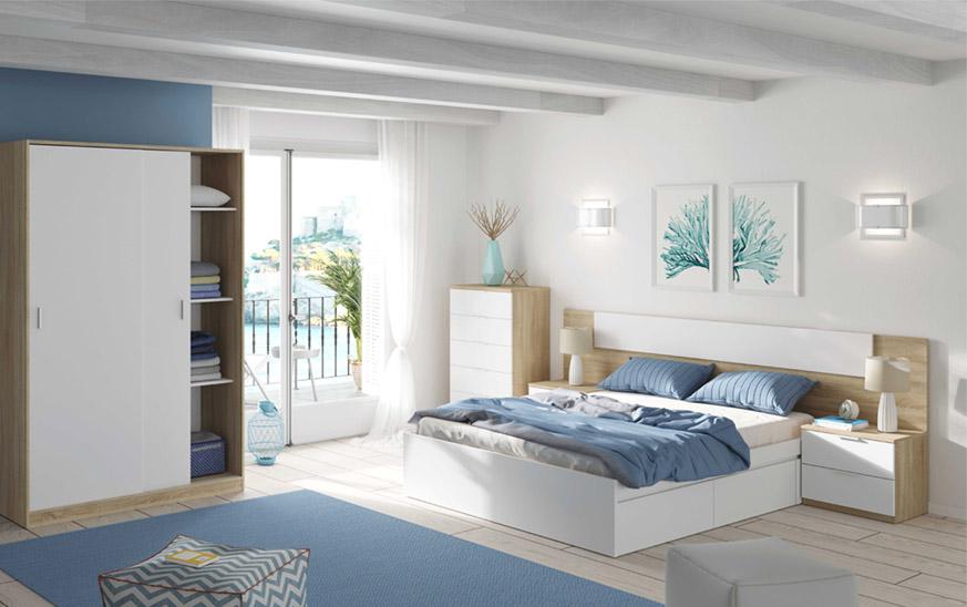 Decorar un dormitorio pequeño ideas