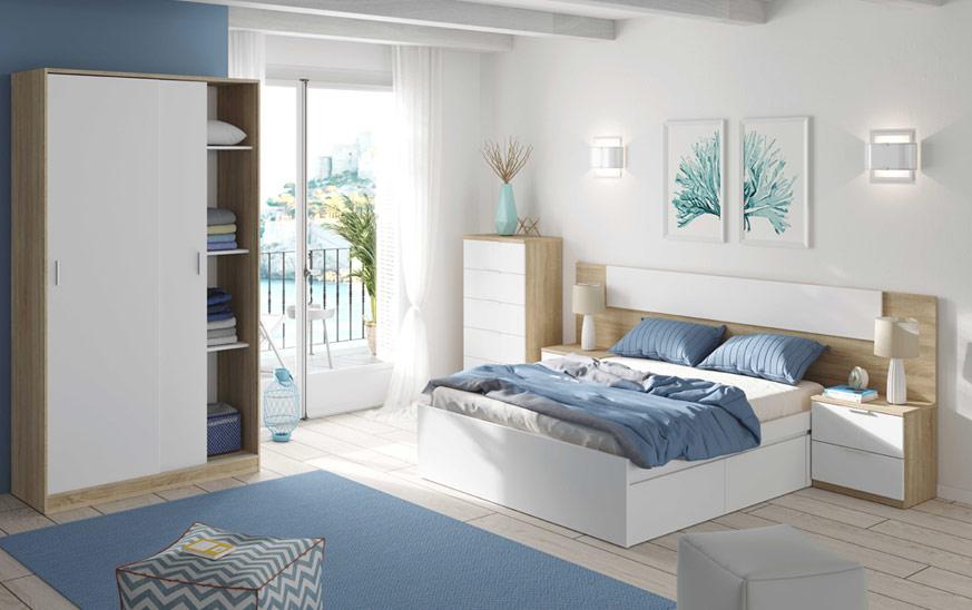 Coge ideas para cabeceros de cama al visualizar este ambiente que va con todo.